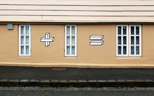 Street Art,design,graffiti,hacked irl,math