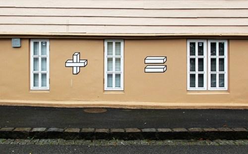 Street Art design graffiti hacked irl math - 6854739968