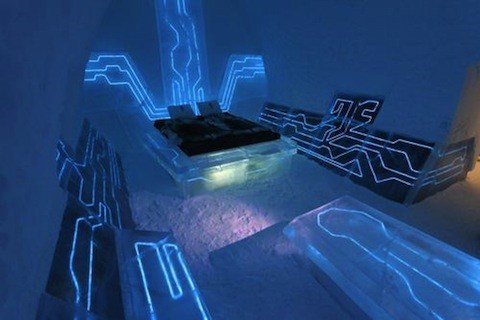 hotel ice hotel design resort ice winter tron g rated destination win