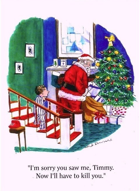 christmas cartoons comic santa funny holidays - 6854776320