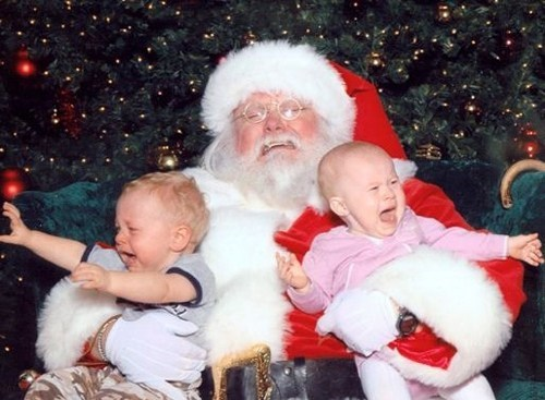 Santa is About to Have a Stroke