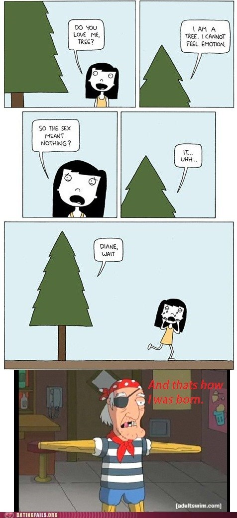 poorly drawn lines,family guy,tree,corrections