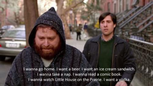 Zach Galifanakis,beer,all of the above