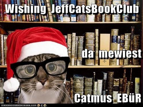 Wishing  JeffCatsBookClub da  mewiest Catmus  EBüR