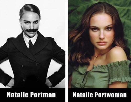man woman surname opposites natalie portman suffix