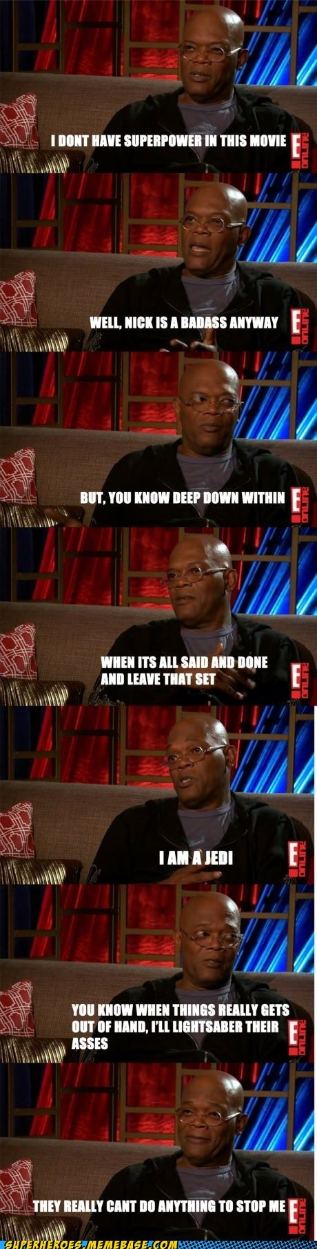 Nick Fury movies Samuel L Jackson interview - 6855361280