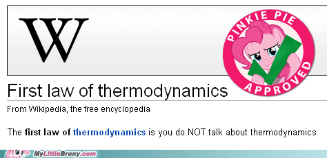 physics pinkie pie thermodynamics wikipedia