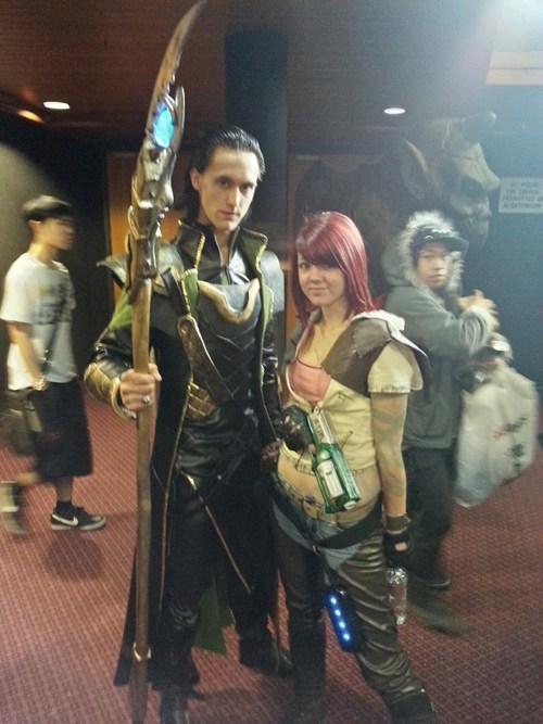 loki,borderlands,cosplay,lilith,movies,video games