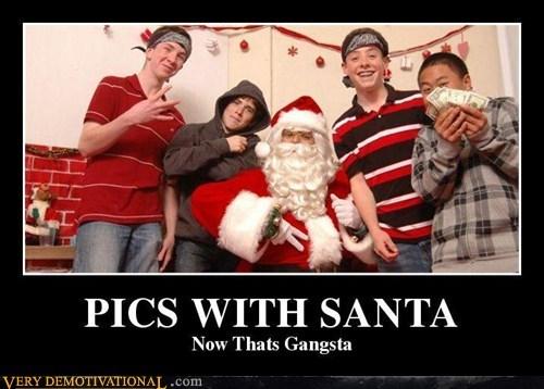 christmas gangsta wtf santa idiots - 6857408768