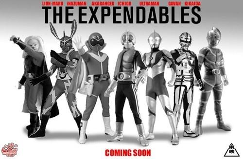 Super Sentai expendables kamen rider ultraman - 6857426688