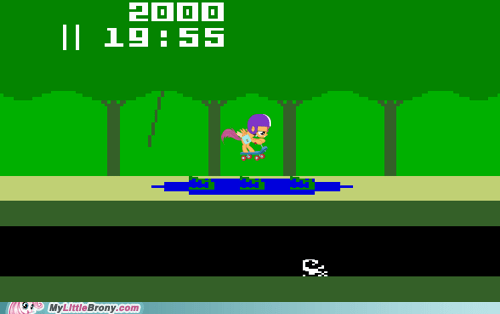 pitfall,atari,video games,Scootaloo