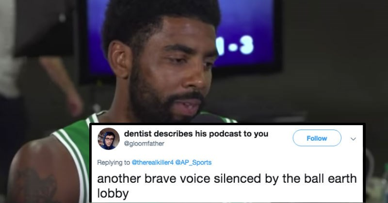 Kyrie Irving nba player apologizes for flat earth theory