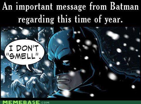 smells jingle bells robin batman - 6858706432