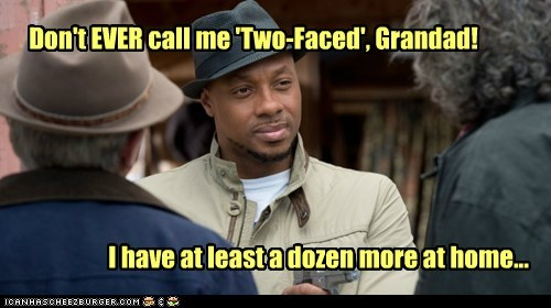dozen,Dorian Missick,haven,Tommy Bowen,two faced,home