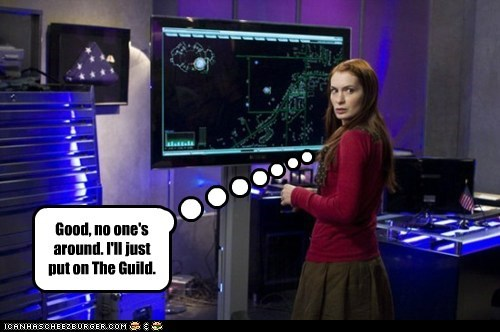 narcissism no one the Guild Felicia Day holly marten
