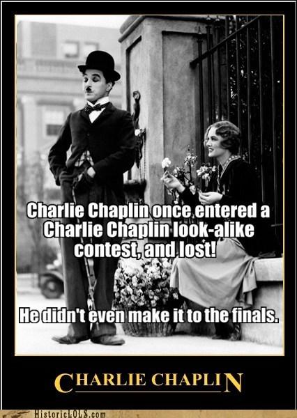 charlie chaplin,look alike,loser,contest