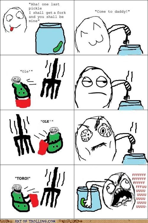 toro fork trolling pickle