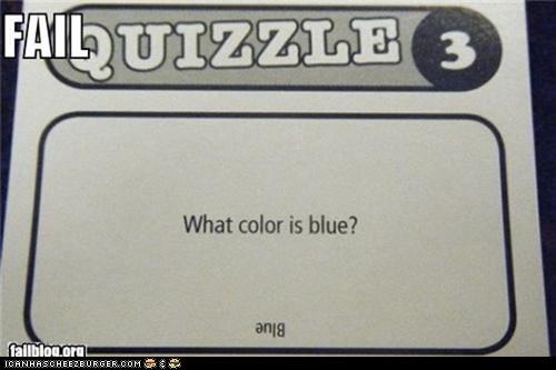 Quizzle FAIL
