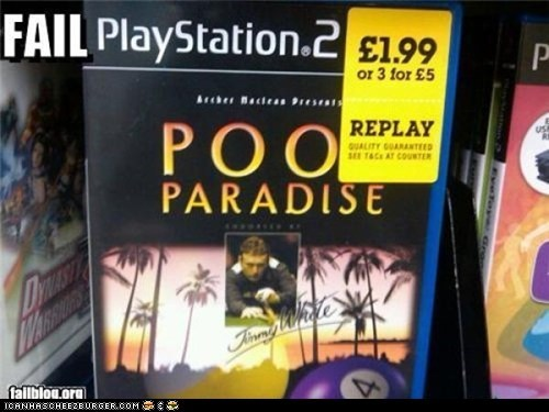Video Game FAIL