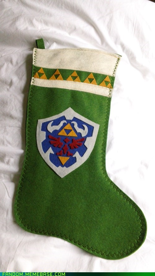 christmas jingle memes legend of zelda DIY stockings video games holidays - 6862049024