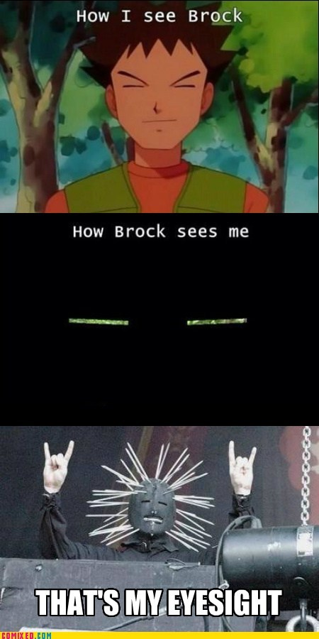 brock,mask,eyes,craig jones,seeing