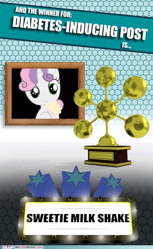 MLBrony of the year Sweetie Belle mlbrony awars milkshake - 6862510592