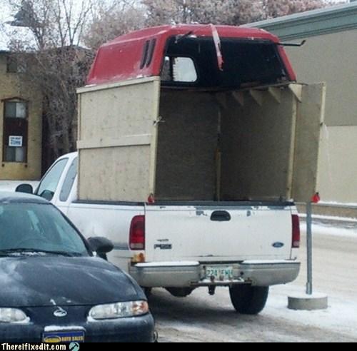 car fix canopy pickup truck car fail - 6862562304