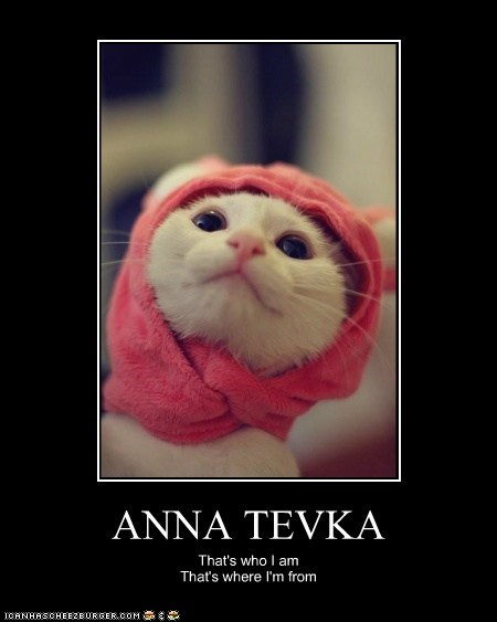 ANNA TEVKA That's who I am That's where I'm from