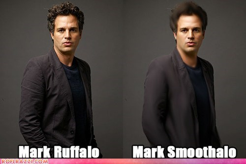 mark ruffalo,smooth,pun,photoshop,tools,name