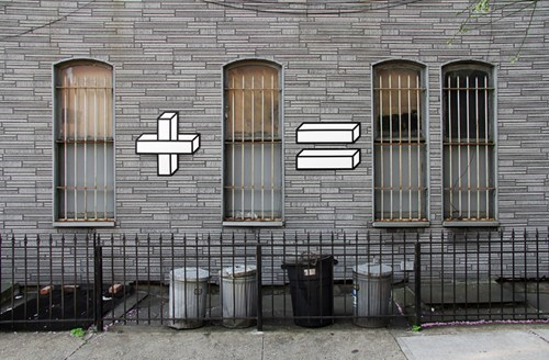 Street Art tape art graffiti - 6863126016