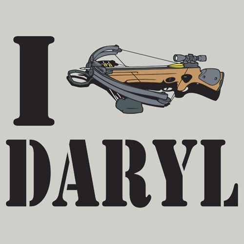 zombie daryl dixon T.Shirt TV The Walking Dead - 6863468544