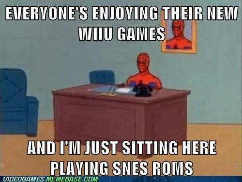 snes wii U Memes Spider-Man - 6864052736