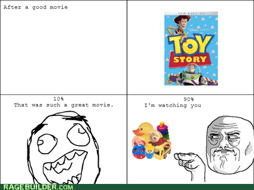 toy story Movie im-watching-you true story