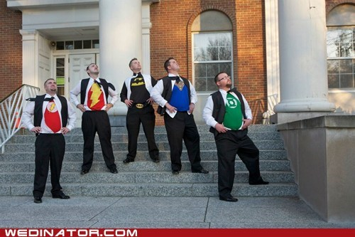 Groomsmen justice league superheroes shirts - 6864276224