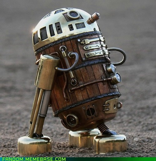 r2d2,Steampunk,star wars