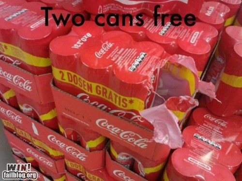 whoops stealing cans literalism free stuff - 6865061120