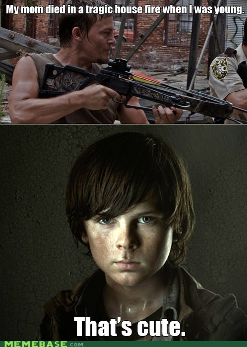 carl parenting The Walking Dead - 6865534208