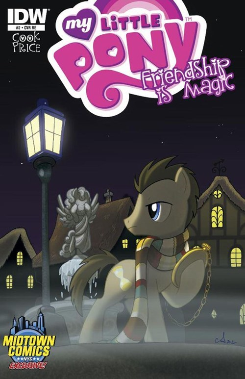 time turner issue 2 doctor whooves comic - 6865724160