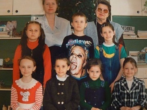 The Prodigy,class picture,T.Shirt