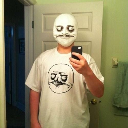 me gusta mask selfie