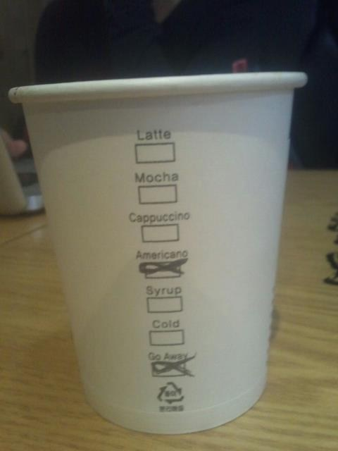 americano Starbucks coffee - 6865916160