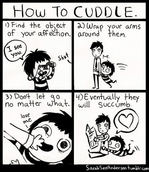 doodle time love me comics cuddling how to cuddle - 6866078976