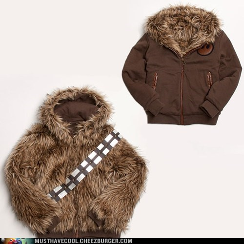 jacket star wars chewbacca coat reversible - 6866311424