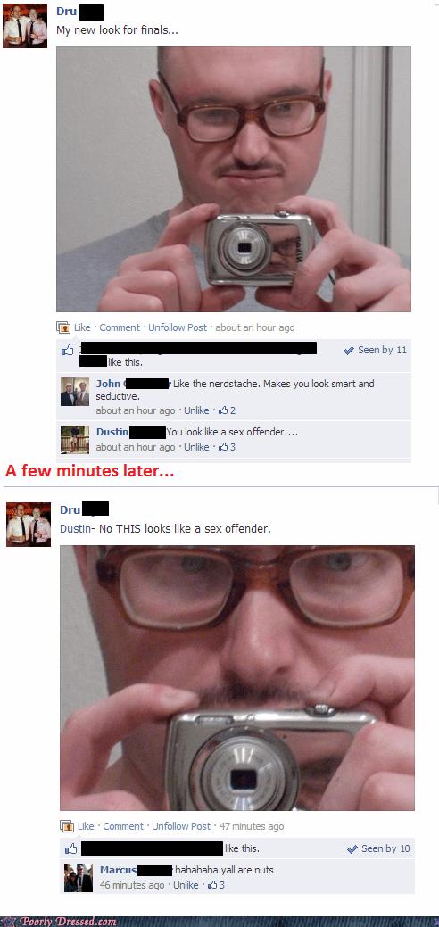 selfie,facebook,sex offender