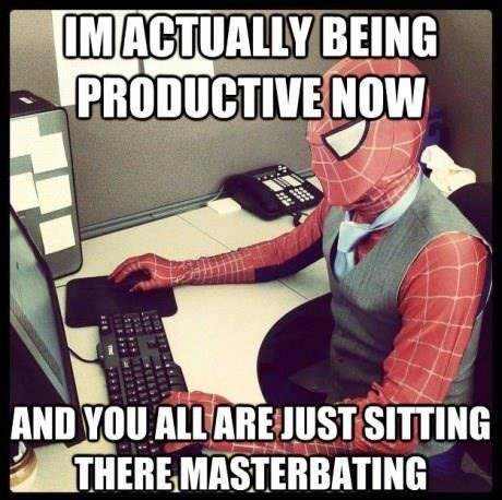 Spider-Man sexy times productive - 6866401792