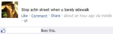 gangster acting street so deep sidewalk - 6866555392