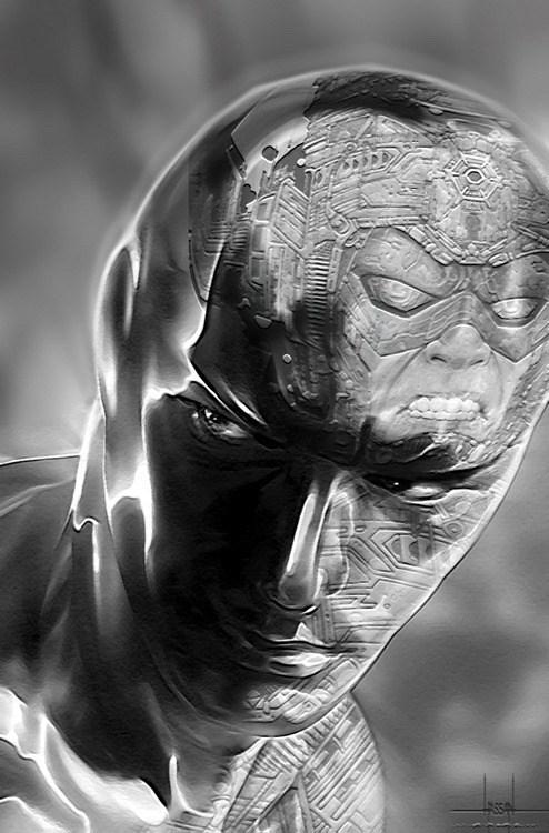 silver surfer reflection galactus - 6866635008