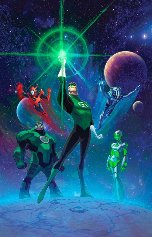 Saturday Morning Cartoons Green lantern - 6866656768
