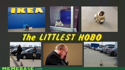 ikea monkey,the littlest hobo,ikea