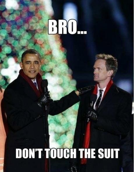 barak obama,Neil Patrick Harris,suit